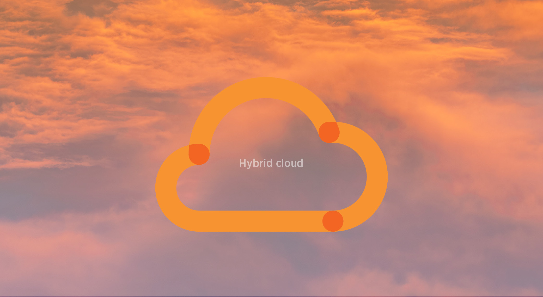 Kind of cloud-Hybrid cloud