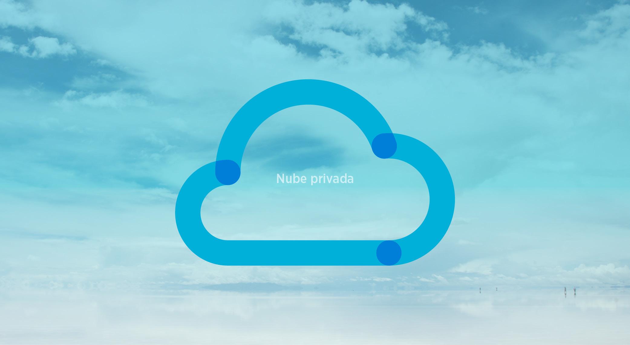 Tipo de nube-Nube privada