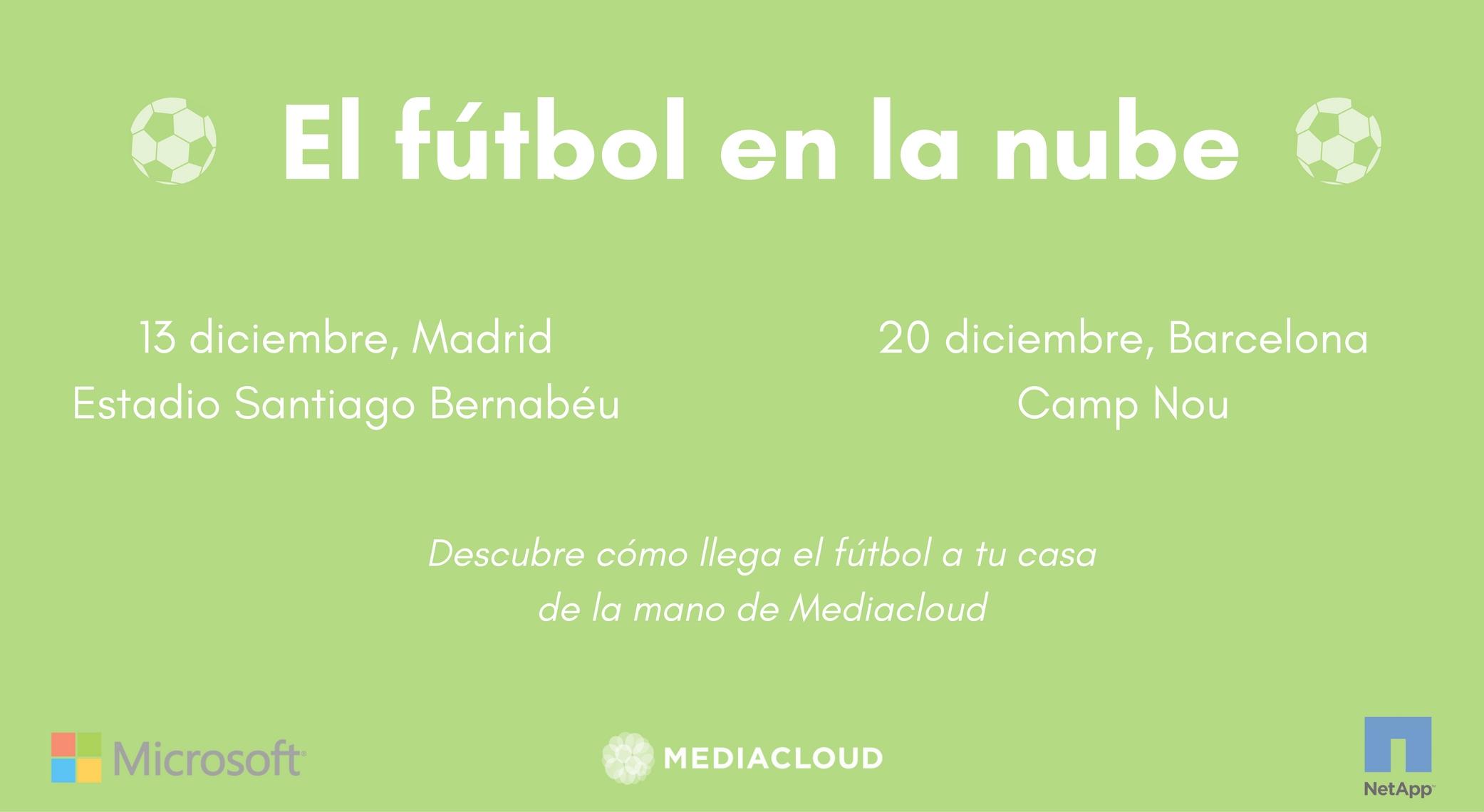 El fútbol en la nube