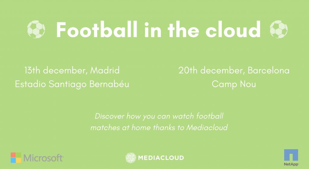 football in the cloud