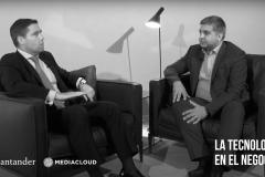 Reflexions entre els directius de Mediacloud i Santander: la tecnologia en el negoci